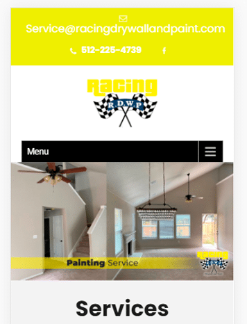 Racing Drywall and Paint